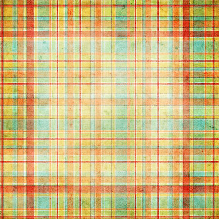 gingham pattern: Seamless plaid or gingham pattern, multicolor stripes