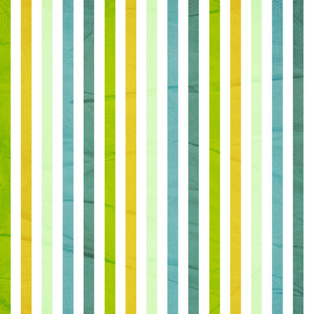 Background with colorful green, yellow and white stripes photo