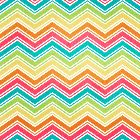 Seamless chevron background pattern in fresh colors
