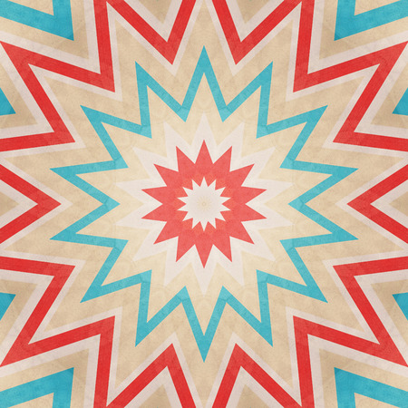 Abstract background - crazy colorful lines star photo