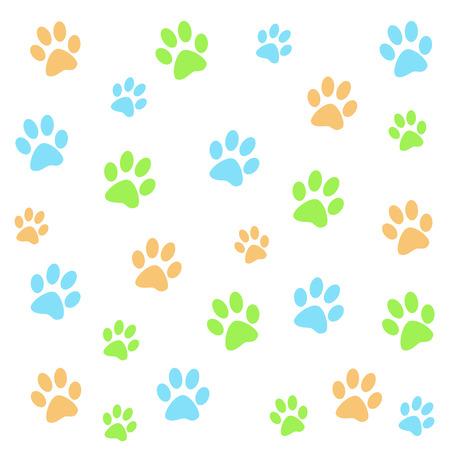 huellas de perro: Huellas