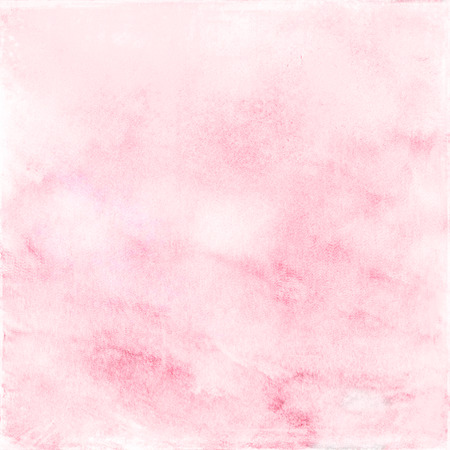 color image creativity: pink watercolor background Stock Photo
