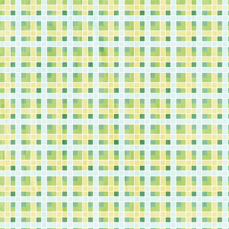 textile background: textile plaid background in green, blue, yellow