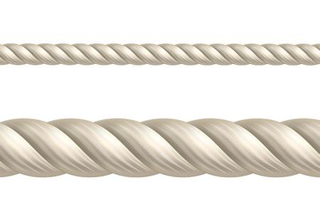 Rope, seamless vector Vettoriali