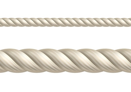 closeup: Rope, seamless vector Illustration