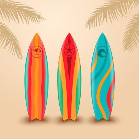 Surfplanken met verschillende ontwerpen