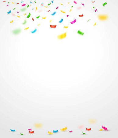 confetti: Colorful confetti. Vector illustration