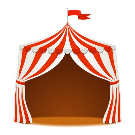 fondo de circo: Fondo del circo carpa
