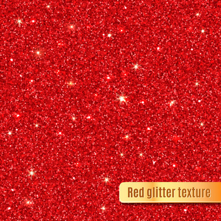 Red glitter texture.