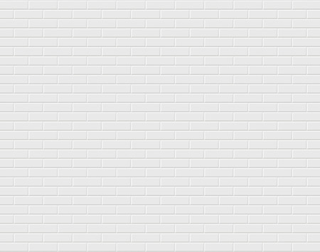 Weiße Mauer. Vektorgrafik