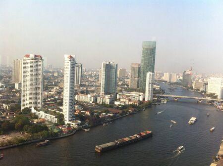 chao: City view Bangkok chao pharya riverside