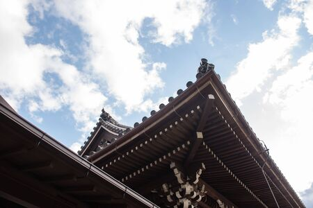 building structure: Temple roof japan