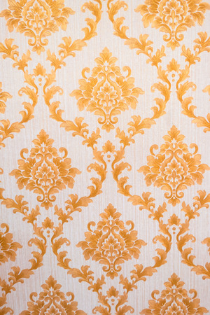 Thai pattern  Art Golden (Lai Thai) Background and Wallpaper Texture . Thai traditional art . Stock Photo