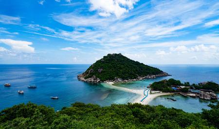beautiful Island Nangyuan Island, Thailand , Summer vacation . Stock Photo