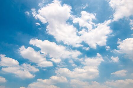 Clouds with blue sky Imagens