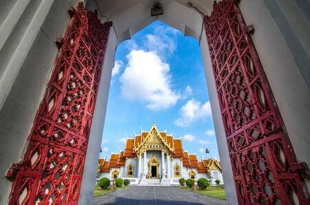 Temple Wat Benchamabophit , Bangkok, Thailand