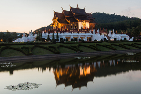 exposition: Ho kham luang northern thailand Editorial