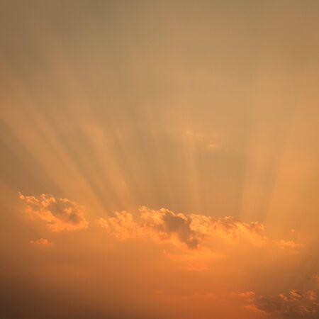 orange sunset: orange sunset sky background