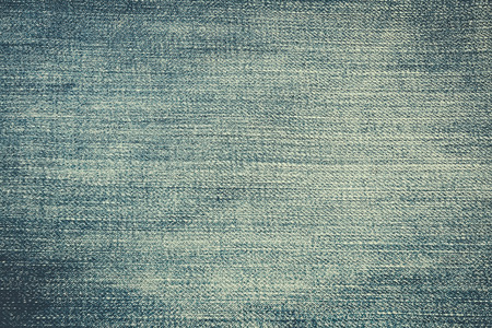 jeans fabric: Texture of blue jeans textile close up