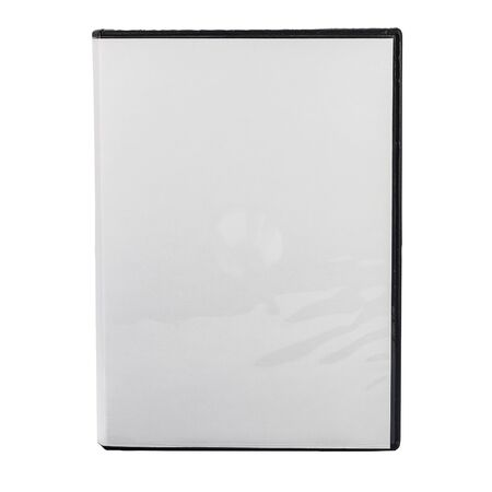dvd case: DvD Blank Case isolated on white background