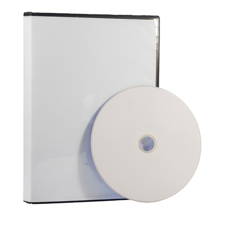 dvd case: Blank DVD case and disc