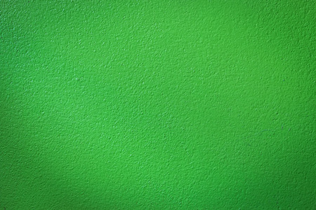 color: Green wall background or texture Stock Photo