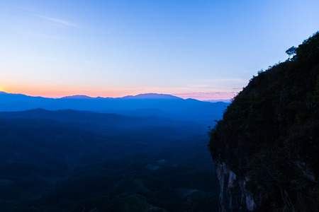 ngo: sunset at Ngo Mon Viewpoint,Mae Taeng,Chiang Mai,Thailand