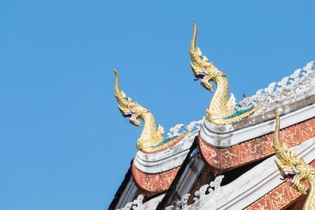 laotian: Haw Pha Bang Buddha temple of the National museum complex of Luang Prabang, Laos. Editorial