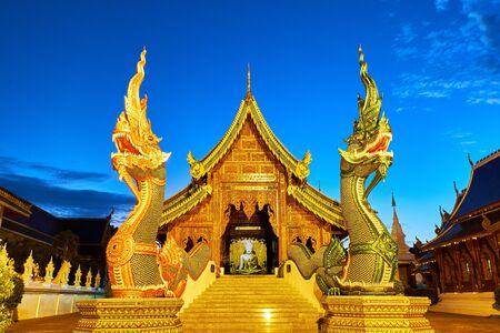Wat Ban den Temple or Wat Den Salee Sri Muangkaen in Chiang Mai, Thailand