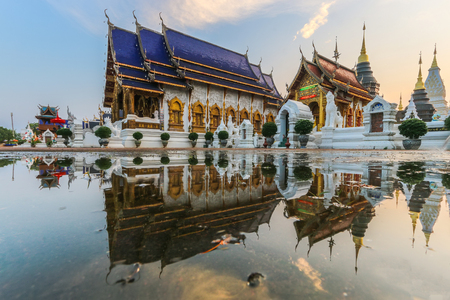 temple wat ban-den , chiangmai province Thailand