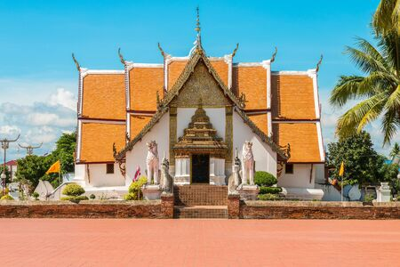 Wat Phumin is an old and famous temple in Nan, Thailand.