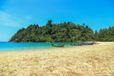 Koh Kam Tok Ranong, Thailand Stock Photo