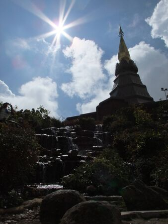 doi: tower on Doi inthanon