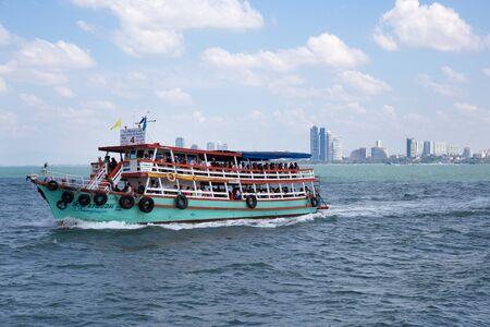 pattaya: Ferry Pattaya Beuaty the sea Near Bangkok