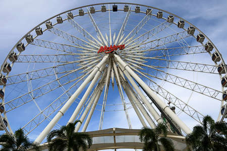 near: Asiatique Tourism of Bangkok at Shopping and Dinner near jao praya river