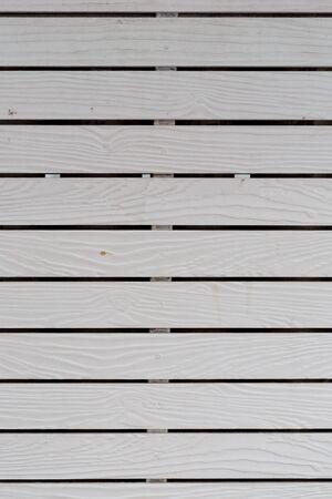 hoarding: White wood Hoarding Stock Photo