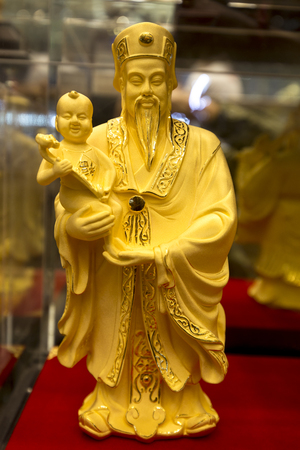 Chinese god gold