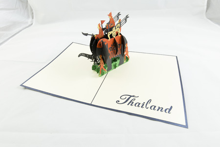 inventive: Gift card elephant Thailand