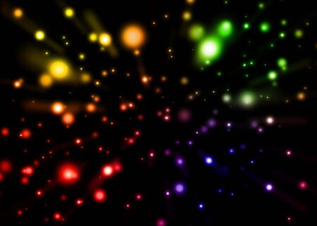 colourful lightings: Colorful Abstract Background