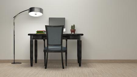 workroom: Workroom Simple and good look  3d rendering image