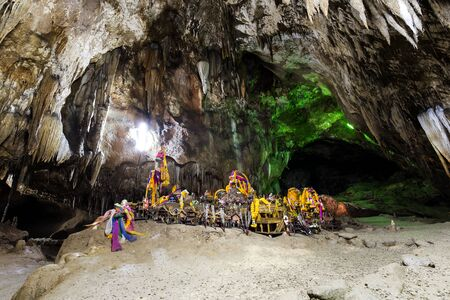 unseen: Tham lay khao kob cave this is unseen thailand Stock Photo