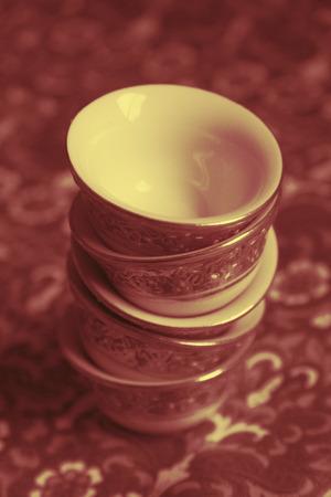 Duotone porcelain