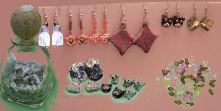 earrings Stok Fotoğraf