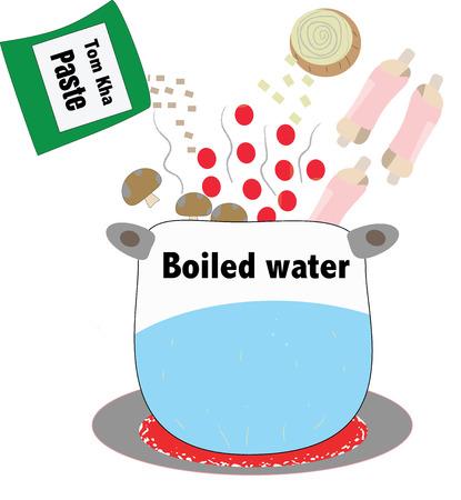 cooking design illustration.
