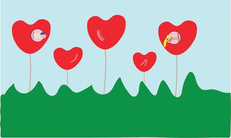 love illustration idea