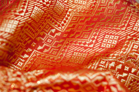 a fabric: Fabric texture background  Fabric texture