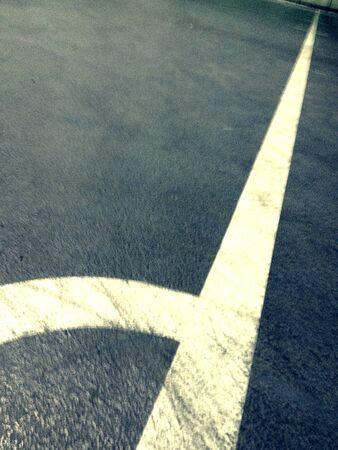 futsal: The side line futsal pitch.