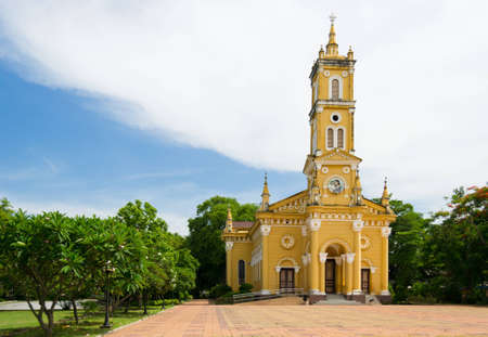 St.Joseph catholic  church in Ayuthaya,Thailand Stock Photo