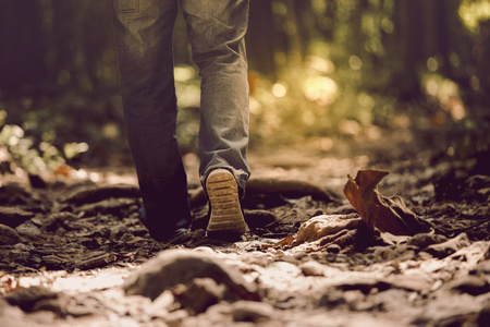 sneakers with pants gene. It can walk in the forest Be active Close to nature