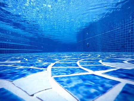 background' The Design under pools empty blue water transparent tiles blend ocean